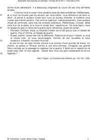 la chambre des officiers résumé complet titre auteur l e c t u r e s o e u v r e analyse de l'incipit pp