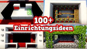 100 einrichtungsideen in minecraft minecraft einrichtungstipps mineraft einrichtung tutorial