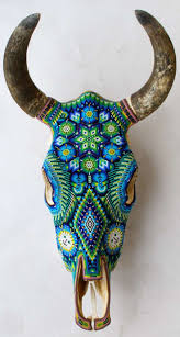 Decorated Cow Skulls Pinterest by 129 Best Beaded Skulls Images On Pinterest Cow Skull Skull Art