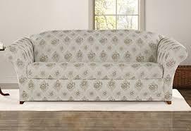 Cindy Crawford White Denim Sofa by Cindy Crawford Beachside Sofa