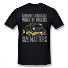 100 Monster Truck T Shirts Jam Grave Digger Shirt Plus Size Casual Op