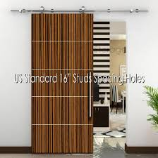 Modern Stainless Steel 304 Sliding Wood Barn Door Hardware 78.7 ... Vintage Sliding Barn Door Kit Hdware Kitchen Ideas Doors Cabinet Hcom Rustic 6 Interior Set Shop At Lowescom With Also The Correct Way To Install Small Mini Best 25 Barn Door Hdware Ideas On Pinterest Diy Traditional John Robinson House Decor Amazoncom Yaheetech 12 Ft Double Antique Country Style Black