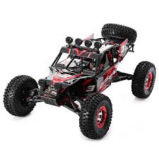 High Speed RC Truck Carro 1/12 2.4G Full Scale 4WD Truck Radio ...