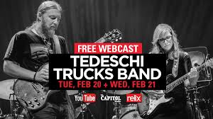 Tedeschi Trucks Band Live From The Capitol Theatre On Livestream