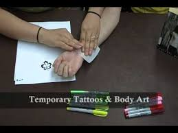 Project Teen 2 Making Temporary Tattoos