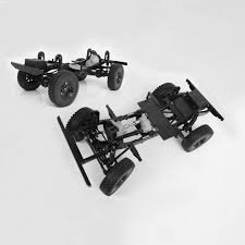 RC 4WD 1/10 Gelande II 4WD Truck Kit Chassis Kit