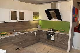 elementa musterküche schicke einbauküche 2 farbig