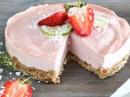 erdbeer frischkäse torte mit keksboden rezept eat smarter