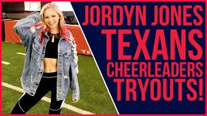Jordyn Jones Texans Cheer Try Out