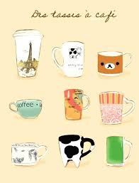Cute Coffee Cup Clip Art Drawing Home Design Ideas Website