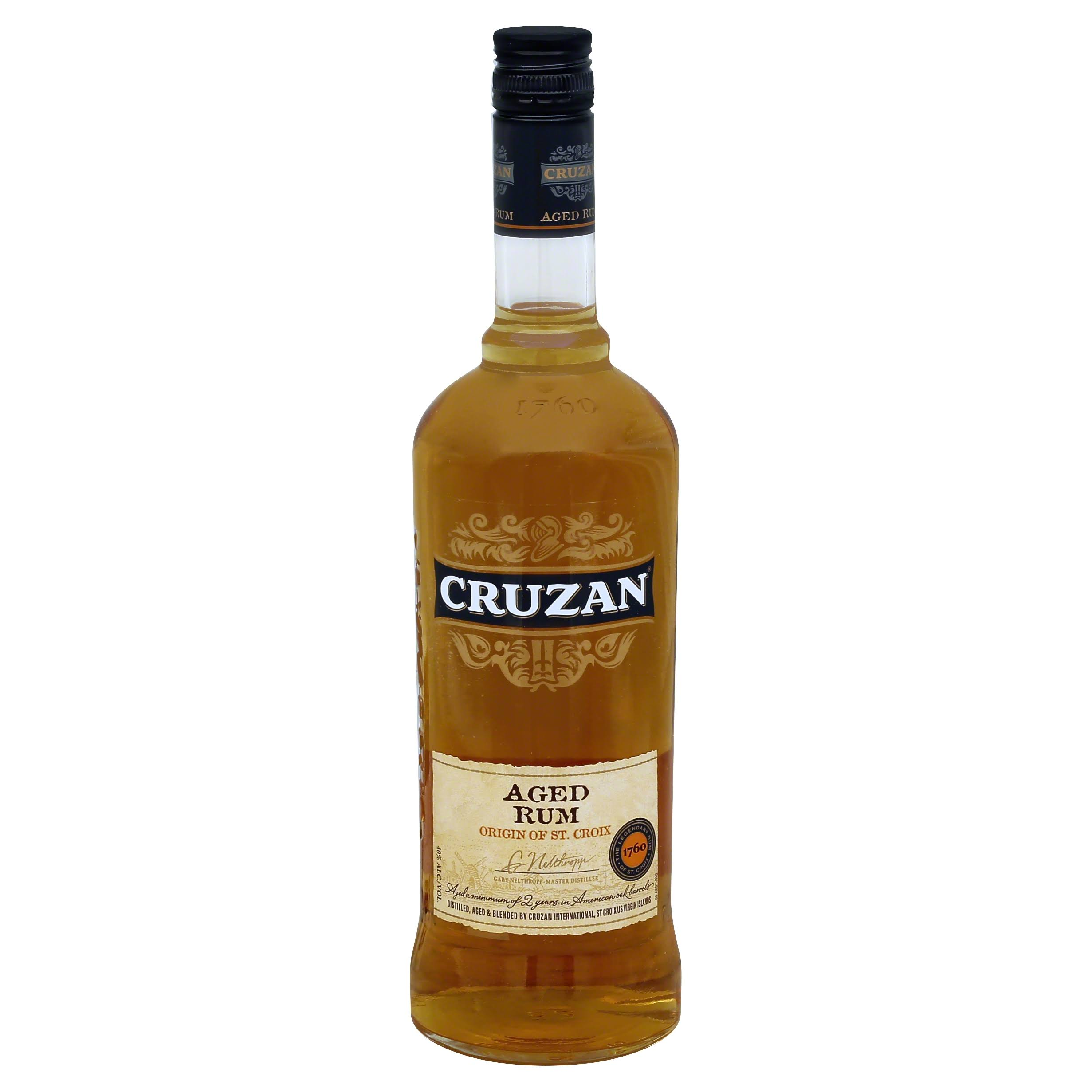 Jim Beam Cruzan Aged Rum - 750ml