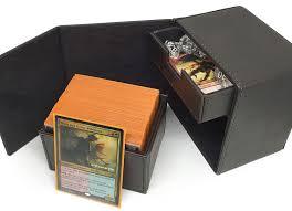 magic edh deck box magic archives bcw supplies