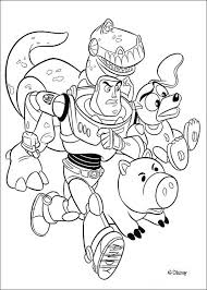 Draw Background Disney Coloring Pages Toy Story For Book 53 Free