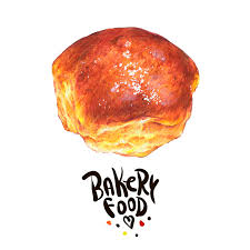 Download Hand Drawn Bakery Isolated On A White Background Stock Illustration