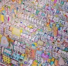 Fantastic Cities ColouringColoring BooksVintage