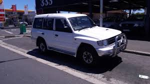 mitsubishi pajero manual good condition