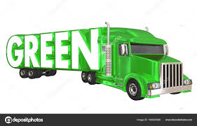 100 Toy Trucking Green Transportation Logistics Stock Photo Iqoncept