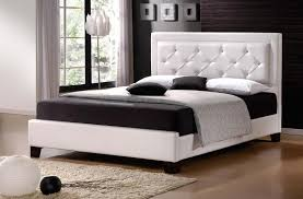 new type bed manufacturer queen size leather hotel led white color