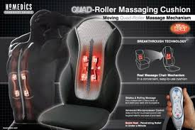 Back Massage Pads For Chairs by Homedics Portable Back Massage Cushion 381massagers Com