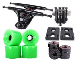 100 Reverse Kingpin Trucks Amazoncom 70mm Neon Green Longboard Wheels And Black