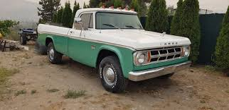 Recent Paint 1969 Fargo Dodge Pickup Camper Special Vintage Truck ...