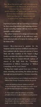 Counseling John MacArthur Wayne A Mack 9781418500054