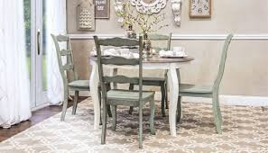 Quick View Daisy Table 4 Sage Chairs