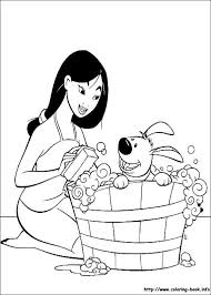 Mulan Coloring Pages Children PagesPrincess