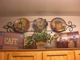 Plant Shelf Decor Idea For Top Kitchen Cabinet