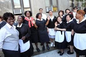 femme de chambre les femmes de chambre de york en soutien à nafissatou diallo