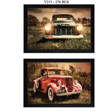 100 Vintage Trucks Shop Collection By RobinLee Vieira Printed Wall