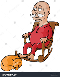 Represent Old Man Sitting On Rocking Stock Vector (Royalty Free ... Old Man Sitting In Rocking Chair And Newspaper Vector Image Vertical View Of An Old Cuban On His Veranda A A Young Is Theory Fact Ew Howe Kursi Man Rocking Chair Watching Tv Stock Royalty Free Clipart Image Collection Hickory Porch For Sale At 1stdibs Drawing Getdrawingscom For Personal Use Clipart In Art More Images The Who Falls Asleep At By Ahmet Kamil Kele Rocking Chair Genuine Old Antique Farnworth
