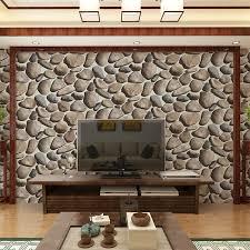 beibehang minimalistischen chaos stein hintergrund wand papier wasserdicht 3d stereo pebble wohnzimmer mode schlafzimmer tapeten