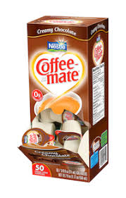 Coffee Mate Non Dairy Creamy Chocolate Liquid Creamer Cups