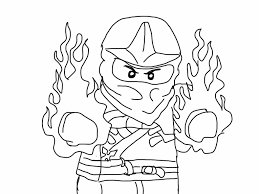 Outstanding Ninjago Coloring Pages To Print With Lego Movie And