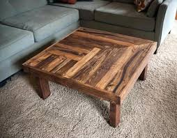 Wood Pallet Design Recycled Wooden Coffee Table Kitchen