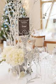Inspiring Winter And Christmas Theme Wedding Centerpieces Are Simple Still Very Stylish Ideas Is To Put Some Cheering Atmosphere