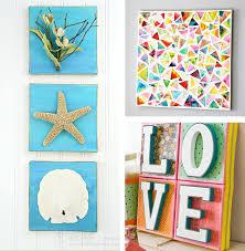DIY Canvas Wall Art Ideas 30 Tutorials