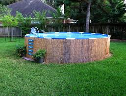 Above Ground Pool Deck Ideas On A Budget And Landscape With Pallets Crafty In Crosby Easy