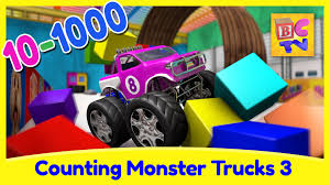 Counting Monster Trucks 3 | Learn To Count From 10 To 1000 For Kids ... Super School Bus Monster Truck Compilation Kids Video Youtube Bigfoot Youtube 28 Images Presents Meteor Cartoon Gold Surprise Egg Bigfoot Cartoon Monster Truck Cartooncreativeco Tv Presents Meteor And The Mighty Trucks Show Beds For Kids Ivoiregion And The Mighty Trucks Uvanus A Snippet Of Official Website Blaze Attacked By Jurassic World Dinosaurs Nickelodeons