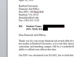 financial aid appeal letter Archives College Funding Success