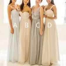 Long Bridesmaid Dresses sleeveless Bridesmaid Dresses chiffon Bri