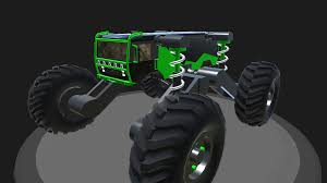 100 Dinosaur Monster Truck SimplePlanes Monster