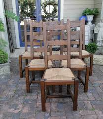 Antique French Farm Dining Chairs Rush Seats Carved Tall Ladder Back ... Antique Set Of 12 French Louis Xv Style Oak Ladder Back Kitchen Six 1940s Ding Chairs Room Chair Metal Oak Ladder Back Chairs Avaceroclub Fniture Classics Solid Wood Wayfair 10 Rush Seat White Painted Country Shabby Chic Cottage In Theodore Alexander Essential Ta Farmstead A 8 Nc152 Bernhardt Woven