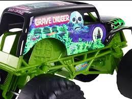 100 Monster Truck Grave Digger Videos Hot Wheels Jam Gigante Camin Juguete Para Nios