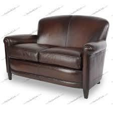 petits canapes petits canapés cuir idéal pour le gain de place