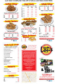 Menu - Uncle Lou's Fried Chicken - Memphis, TN | Eateries To Visit ... How I Spent My Summer Vacation Truck Stop Love The Truckers Bible Pilot Flying J Travel Centers Thousands Flock To Loves For A Chance At Powerball Jackpot Try Thai Street Food At Soi Number 9s Memphis Feed The Giraffes Zoo For 5 Your Family Of Four Can Save Dates Events In August Choose901 Updates Manx Sea Safari Wanderful Guide Home Blues Soul And Rock N Roll Iowa 80 Truckstop Twentyfour Hours Pacific Standard Six Us States Increase Diesel Fuel Taxes
