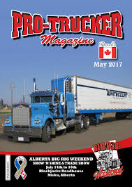 May 2017 Issue   Pro-Trucker Magazine   Canada's Trucking Magazine Dispatch Magazine Oregon Trucking Associations Or Cadian June 2013 By Ctm Magazine Issuu Main Test November Low Ridin Is All The Torque Nz Test Junes Mack Granite Youtube Classic Iii Photo February 1974 About In England 9 02 Ordrive Bulldog Cover1 Owner Operators Utah Httpnickpasseycom What Biggest Safety Threat Truck Drivers Forum Home Facebook May 1986 Cover Story 1 05 Album
