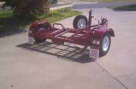 Single Axle Dolly Car Carrier Trailer Gypsy Picture   CAR DOLLYS ...