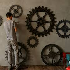 Wall Decor Gears Home Decoration Planner Great